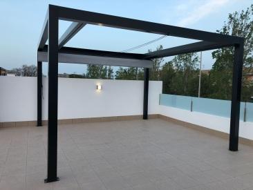 Glass Curtains Costa Blanca Murcia - Terrace Pergola