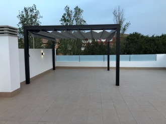 Glass Curtains Costa Blanca Murcia - Terrace Pergola