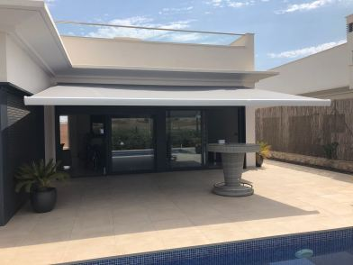 Glass Curtains Costa Blanca Murcia - Sun shade for the terrace