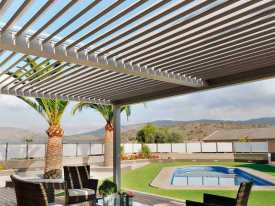 Custom made Bioclimatic Pergola