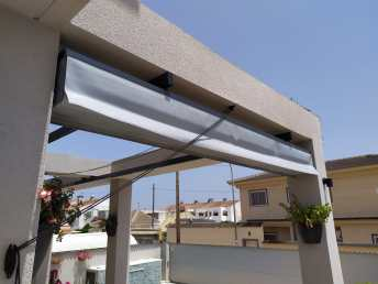 Sun protection from Glass Curtains Costa Blanca Murcia